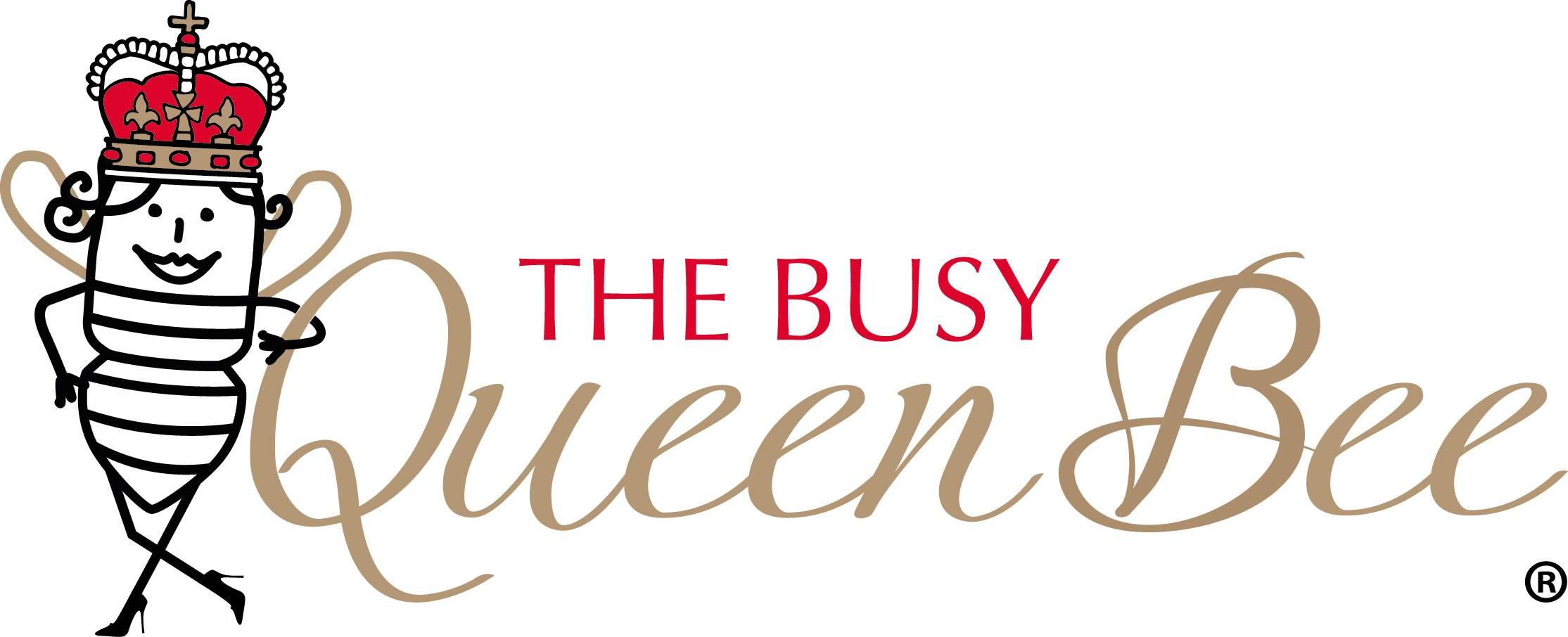 The Busy Queen Bee logo
